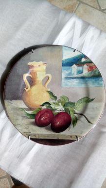 Assiette collection porcelaine de GIEN