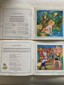 Livres-disques Chansons Dorées de notre Enfance