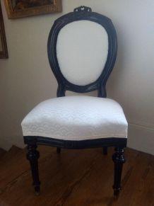 Chaise époque Napoléon III. Style Louis XVI