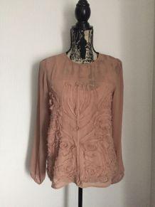 Blouse vieux rose marque 1060 Clothes Taille 38