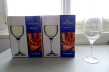 4 verres à vin en cristal Villeroy et Boch