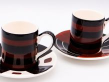 Set 2 Tasses Vintage CHAT CULT 1970