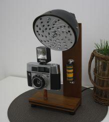 """Lampe à poser DIY récup' """"Appareil photo"""""""
