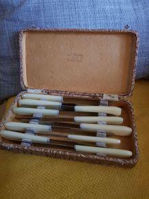 Coffret couteaux vintage