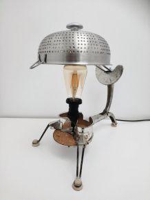 """LAMPE À POSER RÉCUP' """"LA MOULI 2"""""""