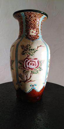 Vase cloisonné
