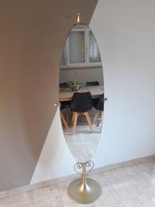 Miroir sur pied GRAETER VITRE annee 60