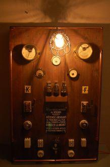 CADRE LUMINAIRE FIGURANT UN ANCIEN TABLEAU ELECTRIQUE