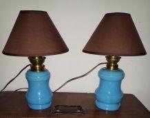 N° 193 Lampes jumelles