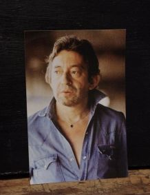 Photo Gainsbourg originale 1987