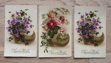 Cartes postales anciennes Joyeux Noël
