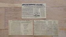 Cartes postales anciennes chansons et partitions musique