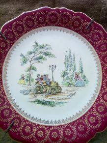Assiette décorative Lucien Michelaud - Limoges