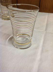 4 verres années 60