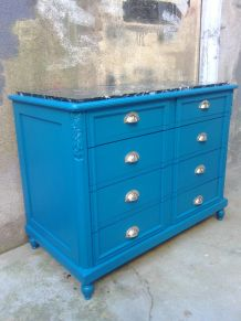 Commode bleue 1920