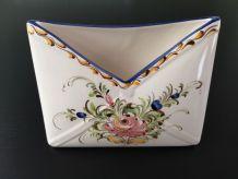 Porte courrier en ceramique