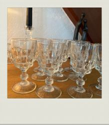Mini-verres à pied (lot de 10)