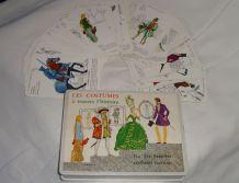 Jeu des 7 familles - Les costumes à travers l'histoire