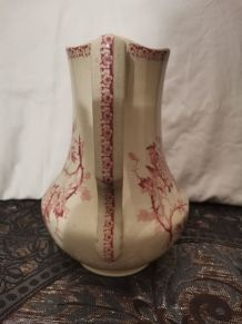 GRAND BROC DE TOILETTE  porcelaine opaque (faïence) de GIEN,