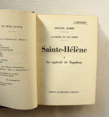Sainte-Hélène. Aubry. Ouvrage complet en 2 parties. EO 1935.