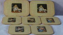 Dessous de plats 7 pièces