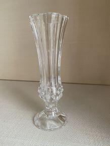 Vase soliflore en cristal