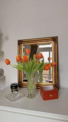 Vase en verre cristal