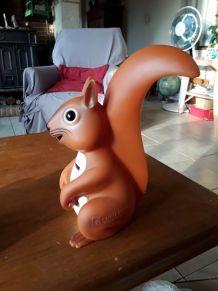 Tirelire écureuil publicitaire Caisse d'Epargne
