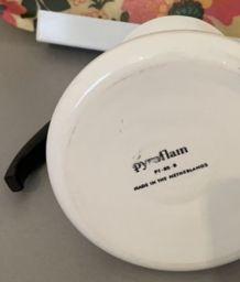Théière Pyroflam vintage 80's