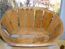 Ancienne cagette en bois 6e