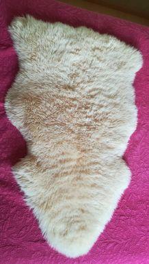 véritable peau de mouton