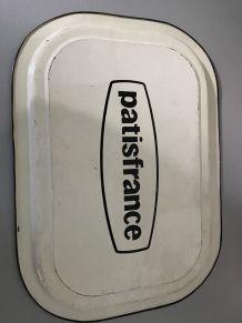 Plateau vintage publicitaire Pastifrance