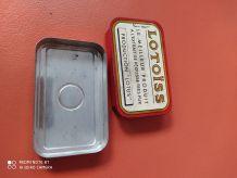 Boite en métal Lotoïss