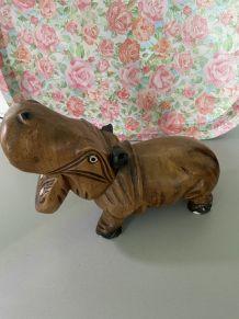 Hippopotame Art déco