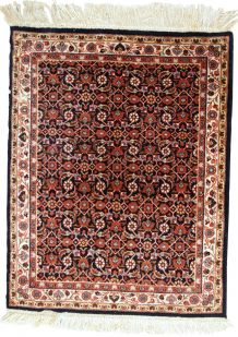 Tapis vintage Indo-Tabriz fait main, 1C718