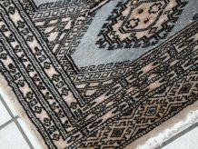 Tapis vintage Ouzbek Bukhara fait mainб 1С719