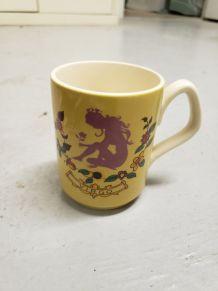Tasse vintage virgo, signe astrologique vierge