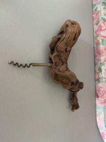 Tire bouchon ancien pied de vigne
