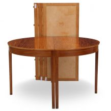 Ole Wanscher: Table à manger circulaire en acajou
