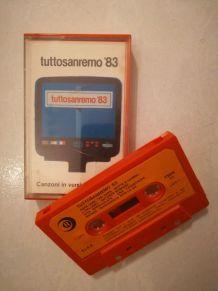 K7 audio — Tutto Sanremo '83