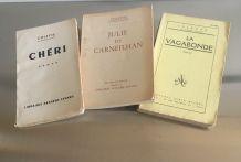 3 romans de Colette