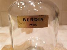 Flacon Burdin bouchon manquant. Années 50/60