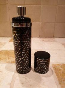 Flacon vide eau de parfum Azzaro année 80 plus édité