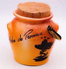 Pot à Herbes de Provence vintage 1975
