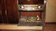 Meuble radio / tourne disque blaukpunt années 50-60
