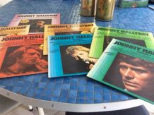 lot 7 vinyles Johnny Hallyday