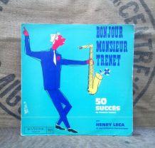 """Henri Leca et son orchestre """"Bonjour monsieur Trenet"""""""