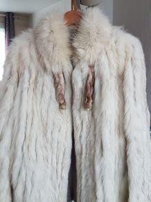 Fourrure en renard bleu, comme neuf-marque Norwegian