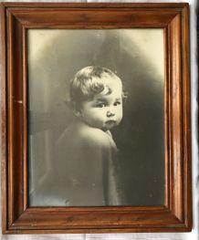 Photo encadrée de bébé 1928