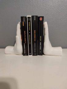 serre-livres mains en céramique à lester